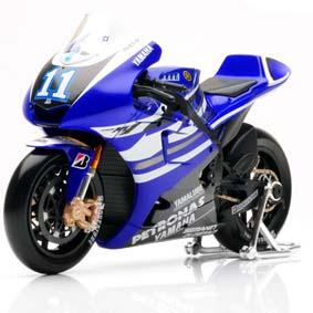 Miniaturas Moto GP 2011 Maisto / Yamaha YZR-M1 (2011) #11 Ben Spies escala 1/10