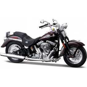 Miniaturas Motos Maisto Harley Dav.Softail Springer Classic FLSTCI S-28 (2005)