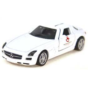 Miniaturas Siku RARIDADE Miniatura Mercedes Benz SLS AMG Gullwing Spielwarenmesse