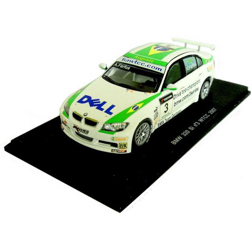 Miniaturas Spark escala 1/43 S0405 BMW 320 Si num. 3 WTCC (2007) Augusto Farfus Jr.