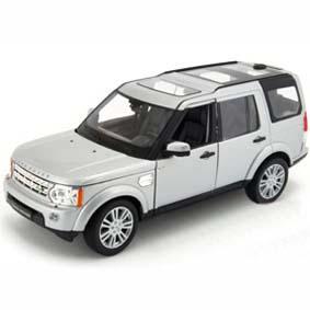 Miniaturas Welly Brasil / Miniatura Land Rover Discovery 4 escala 1/24