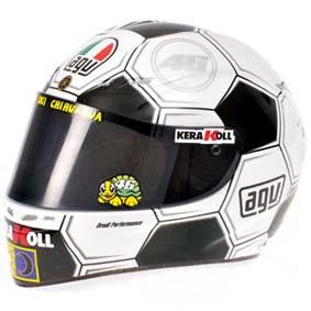 Minichamps escala 1/2 AGV Valentino Rossi Campeão (2008) Yamaha