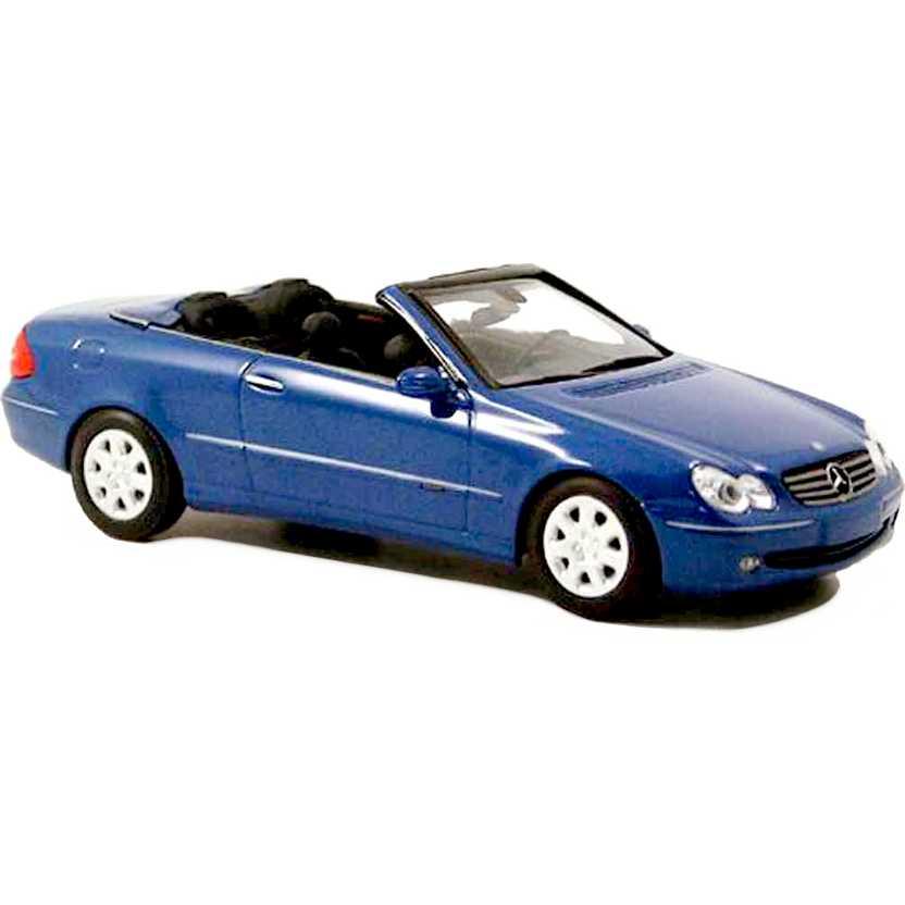 Minichamps escala 1/43 - Mercedes-Benz CLK-Klasse Cabriolet (2003) azul metálico