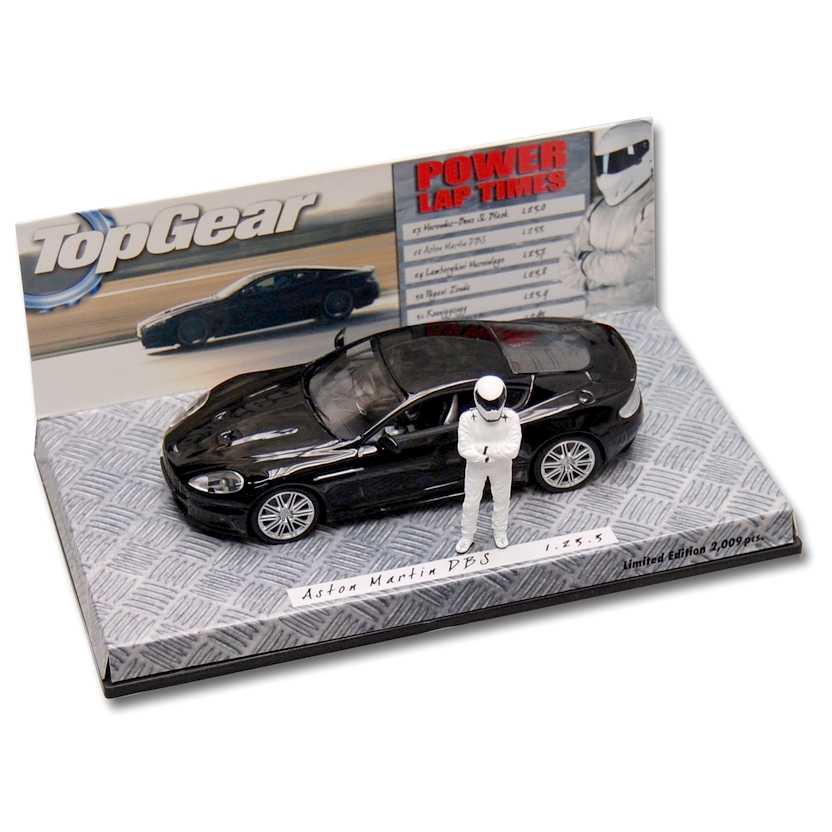 Minichamps escala 1/43 - Top Gear Aston Martin DBS com tempo 1.23.3 ( 519431376)