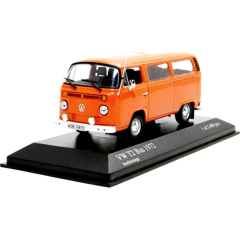Minichamps escala 1/43 - VW Kombi (1972) Volkswagen T2 Bus - 1 of 5400 pcs