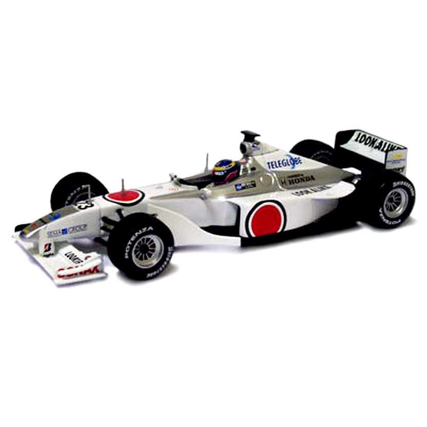 Minichamps F1 B.A.R. Honda Ricardo Zonta (2000) showcar escala 1/43 430000073