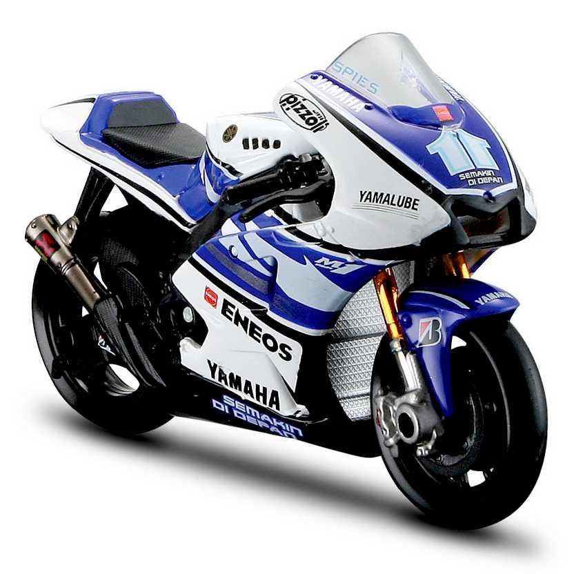 Moto GP 2012 Yamaha YZR-M1 Ben Spies No 11 - Maisto escala 1/18