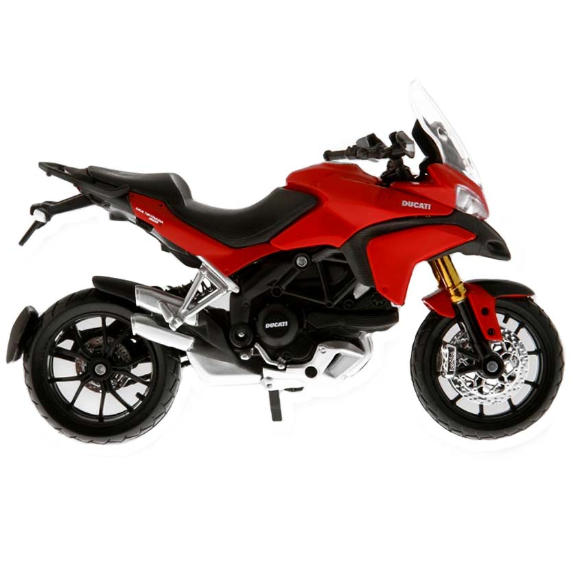 Moto Maisto escala 1/18 : Ducati Multistrada 1200S (2011)