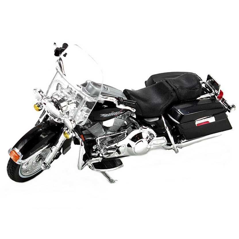 Moto Maisto Harley-Davidson 1999 FLHR Road King S-32 escala 1/18