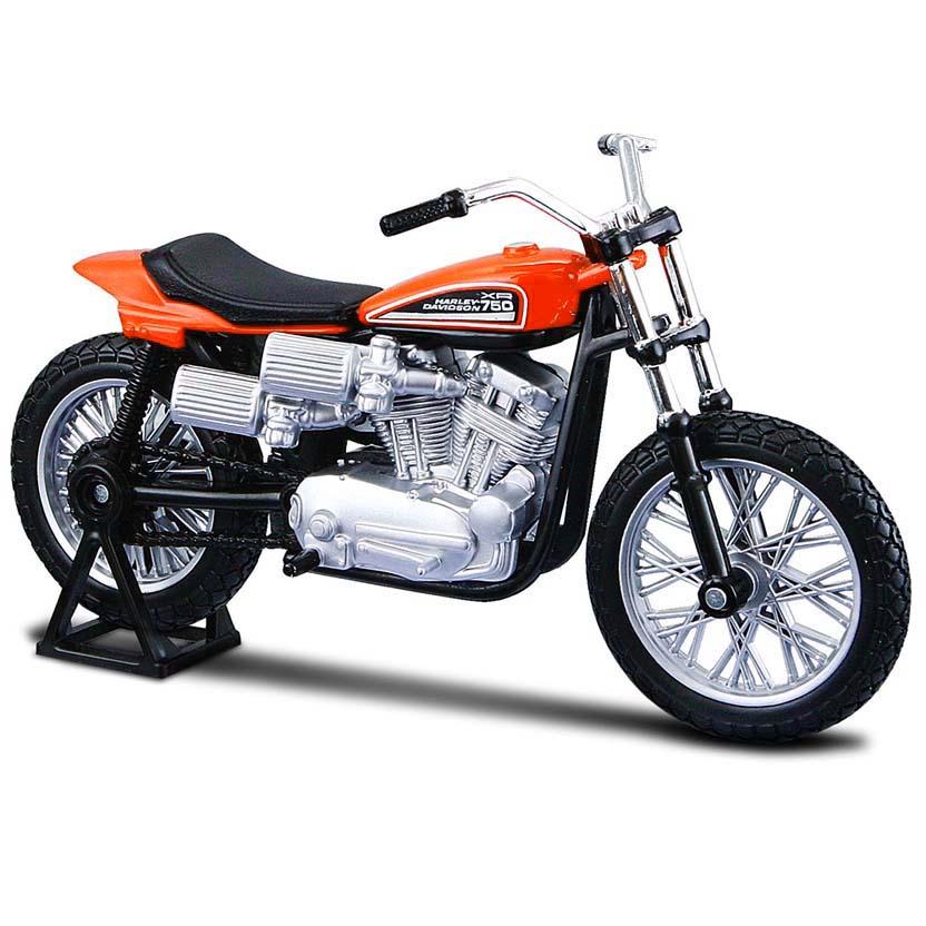 Moto Maisto Harley Davidson XR750 Racing Bike S-30 (1972) escala 1/18