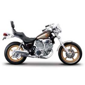 Moto Maisto Yamaha Virago XV 1000 (escala 1/18) raridade