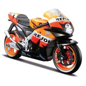 MotoGP Honda Repsol RC212V Dani Pedrosa (2008) Moto da Maisto escala 1/18