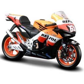 MotoGP Honda Repsol RC212V Nicky Hayden (2008) Moto da Maisto escala 1/18