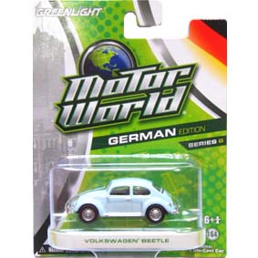 Motor World série 6 Greenlight Collectibles VW Beetle Fusca R6 96060
