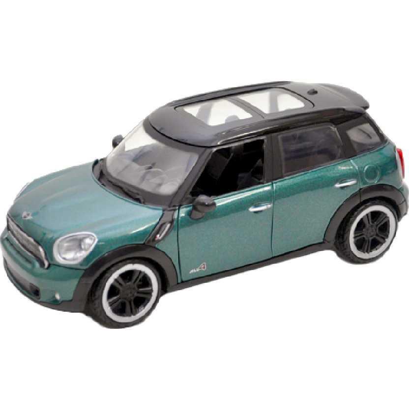 MotorMax escala 1/24 Mini Cooper S Countryman verde metálico (2011)