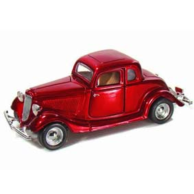 Motormax Miniaturas Ford Coupe (1934) escala 1/24