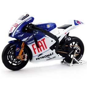 Motos da Maisto 2009 - MotoGP Fiat Yamaha M1 Jorge Lorenzo 99 escala 1/10