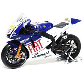 Motos da Maisto 2009 - MotoGP Fiat Yamaha M1 Valentino Rossi 46 escala 1/10