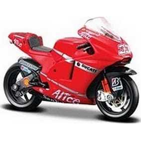 Motos Maisto 1/18 Ducati Desmosedici Marco Melandri #33 (2008) raro
