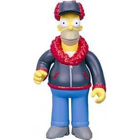 Mr. Plow Homer (série 12) aberto