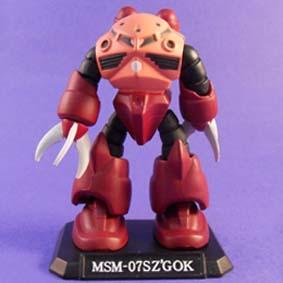 MSM-07SZ GOK ( Bonecos Gundan )