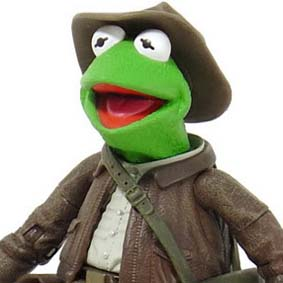 Muppets Caco / Indiana Jones ( Adventure Kermit 2004 ) Jim Hensons The Muppet Show