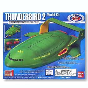 Nave Thunderbird 2 The Movie (kit plástico) não requer cola e tinta