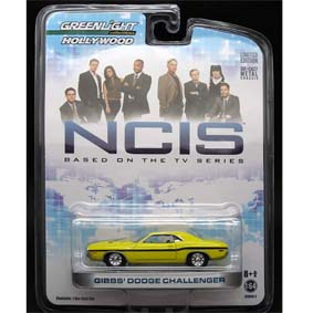 NCIS Gibbs Dodge Challenger :: Greenlight Collectibles Hollywood R2 44620