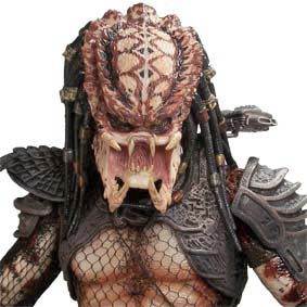 Neca 1/4 scale Predator 2 City Hunter : Predador 2 escala 1/4 Action Figure