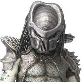 Neca 1/4 scale Predator 2 Warrior : Predador 2 escala 1/4 Action Figure