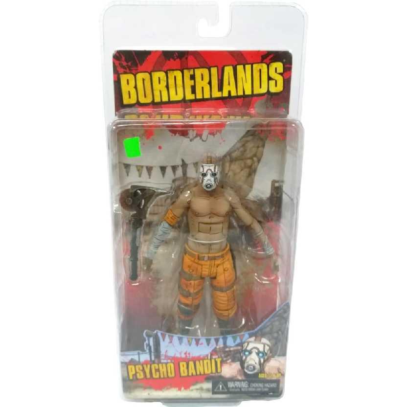 Neca Borderlands figures Psycho Bandit Action Figure Novo / Lacrado