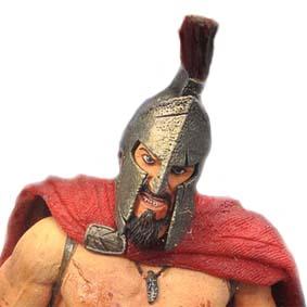 Neca Cult Classics Icons series 4 300 King Leonidas ( Gerard Butler ) Rei Leônidas