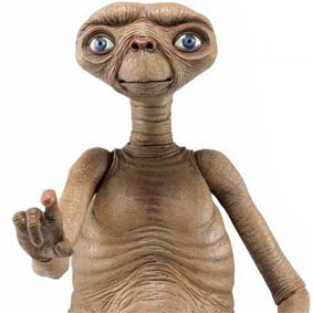 Neca ET Figures Galact Friend series 1 E.T. O Extraterrestre