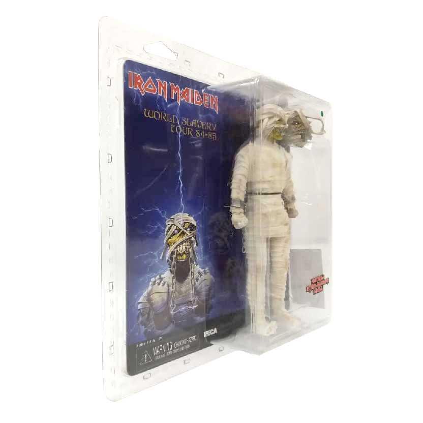 Neca Iron Maiden Mummy Eddie - World Slavery Tour 84-85 Retro Style Action Figure ORIGINAL