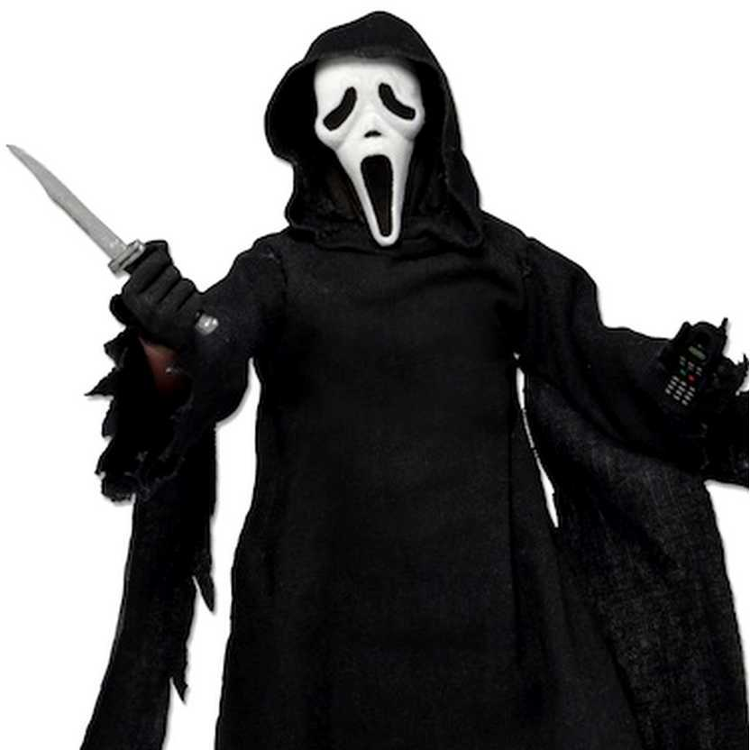 Neca Mego-Style Pânico - Scream Ghost Face Retro 8 Action Figure