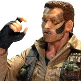 Neca Predator Jungle Extraction Dutch ( Arnold Schwarzenegger ) Predador series 8