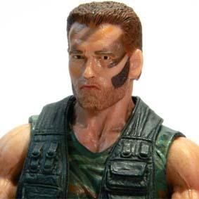 Neca Predators series 8 Jungle Patrol Dutch ( Arnold Schwarzenegger )