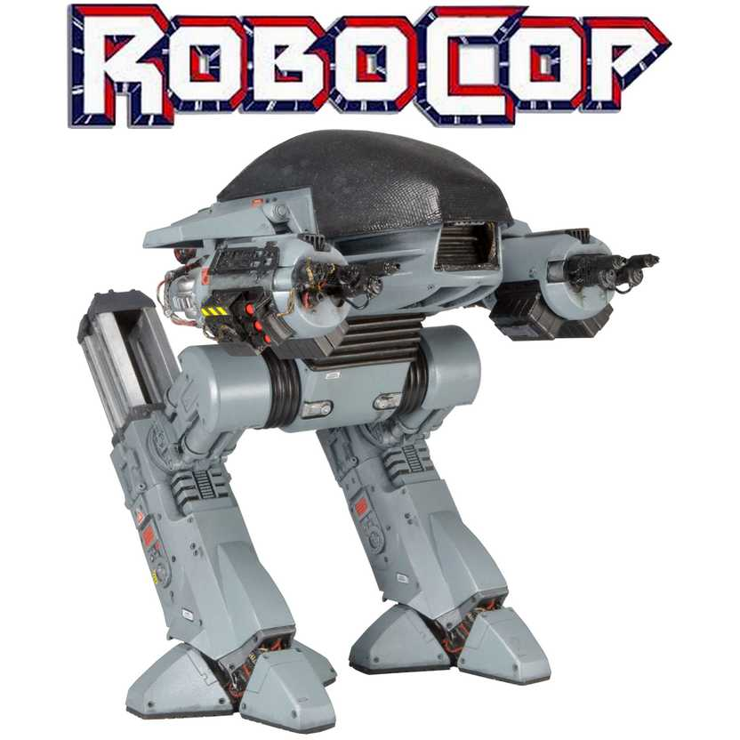 Neca Robocop ED-209 com som - The Future of Law Enforcement Figure