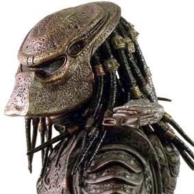 Neca scale 1/4 Predator 2 City Hunter Masked : Predador 2 escala 1/4 Action Figure