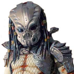 Neca scale 1/4 Predator 2 Guardian : Predador 2 escala 1/4 Action Figure