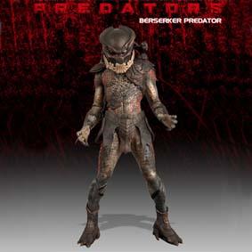 Neca Toys do Brasil Boneco Predador / Predator series 1 Berserker