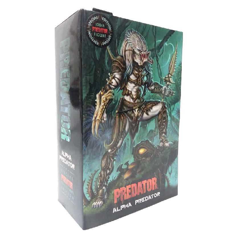 NECA Toys Special Edition 100th Predator ULTIMATE ALPHA PREDATOR Predador