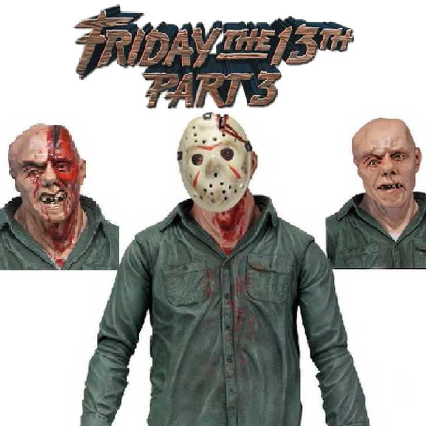 Neca Ultimate Jason Voorhees (Sexta Feira 13 parte 3) Friday the 13th Part 3 action figure