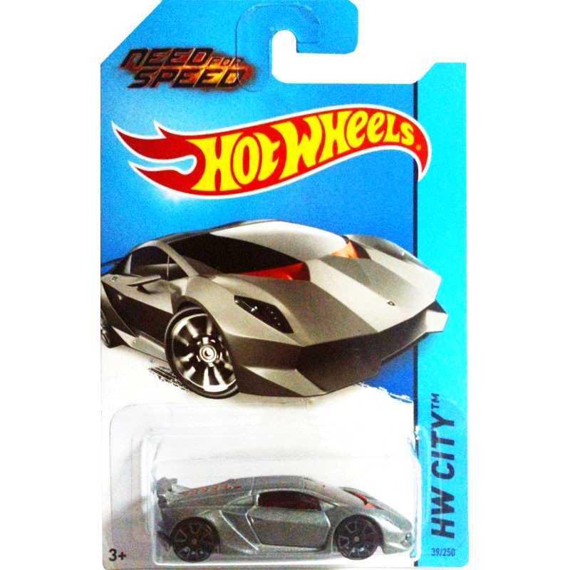 Need for Speed Hot Wheels 2014 Lamborghini Sesto Elemento series 39/250 BFF92 escala 1/64