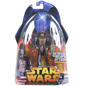 Neimoidian Warrior Boneco Star Wars Revenge of The SIth Hasbro