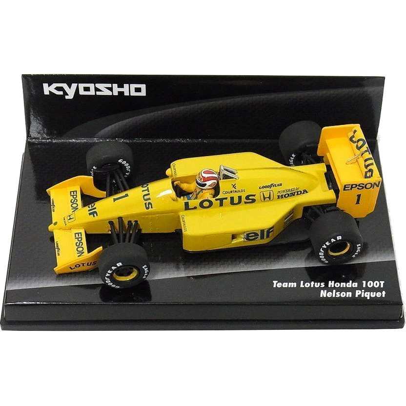 Nelson Piquet  (1988) Lotus 100T Honda Turbo - Kyosho escala 1/43