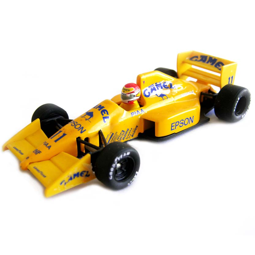 Nelson Piquet (1989) Camel Team Lotus 101T - Judd CV V8 / Goodyear - ONYX escala 1/43