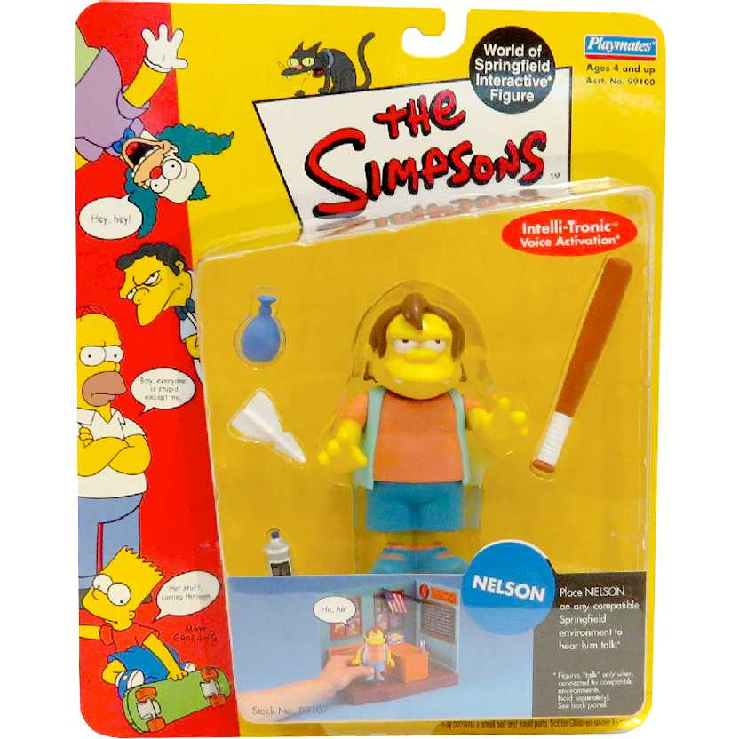 Nelson (World of Springfield Interactive figure) The Simpsons Playmates action figures
