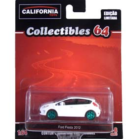 New Fiesta hatch (2012) Greenlight Green Machine California Toys Collectibles 1/64