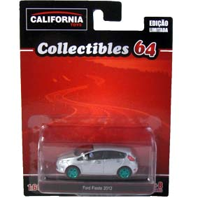 New Ford Fiesta hatch (2012) Greenlight Green Machine California Toys Collectibles 1/64